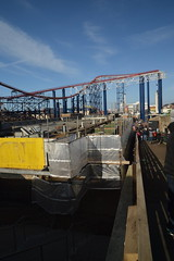 Work on the Bowl-a-drome (CoasterMadMatt) Tags: blackpoolpleasurebeach2019 pleasurebeachblackpool2019 blackpoolpleasurebeach pleasurebeachblackpool pleasurebeach pleasure beach blackpool 2019season amusementpark themepark amusement theme park parks englishamusementparks amusementparksinengland bowladrome bowladromearcade arcade construction renovation thebigone bigone pepsimaxbigone pepsi max big one steelrollercoaster steel rollercoaster rollercoasters roller coaster coasters blackpoolsrollercoasters englishrollercoasters rollercoastersinengland ride rides lancashire lancs fyldecoast northwestengland northwest england britain greatbritain unitedkingdom uk gb europe february2019 winter2019 february winter 2019 coastermadmattphotography coastermadmatt photography photographs photos nikond3200