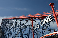 The Lift Hill of the Big One (CoasterMadMatt) Tags: blackpoolpleasurebeach2019 pleasurebeachblackpool2019 blackpoolpleasurebeach pleasurebeachblackpool pleasurebeach pleasure beach blackpool 2019season amusementpark themepark amusement theme park parks englishamusementparks amusementparksinengland thebigone bigone pepsimaxbigone pepsi max big one steelrollercoaster steel rollercoaster rollercoasters roller coaster coasters blackpoolsrollercoasters englishrollercoasters rollercoastersinengland lifthill lift hill ride rides lancashire lancs fyldecoast northwestengland northwest england britain greatbritain unitedkingdom uk gb europe february2019 winter2019 february winter 2019 coastermadmattphotography coastermadmatt photography photographs photos nikond3200
