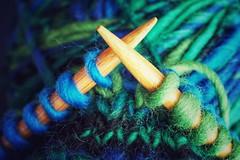Goes together like Needle and Thread (christiane.grosskopf) Tags: goestogetherlike macromondays needle thread wool colourful knitting macro