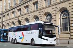 Travellers Choice 37 HE (TEN6083 (kieron mathews)) Tags: transport publictransport bus buses nebuses travellerschoice 37he pn07lml manchester volvo corporationstreet vdl b12b berkhofaxial