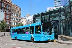Arriva 3131 / MX12 KWD (TEN6083 (kieron mathews)) Tags: transport publictransport bus buses nebuses manchester arriva vdl wrightbus shudehillinterchange 3131 sb200 arrivanorthwest pulsar2 mx12kwd