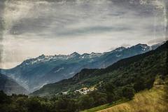 Mountains in Savoie (judy dean) Tags: judydean 2019 france savoie mountains village sky clouds