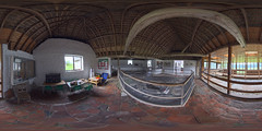 Bignor Roman Villa - West Sussex (Terrycym) Tags: bignorromanvilla westsussex 360 equirectangular panorama archeology mosaic vr