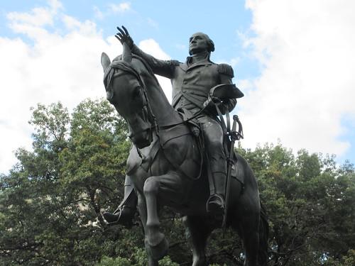 2019 Bronze Equestrian statue of George Washington 9211