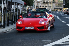 Poland (Police) - Ferrari 360 Spider (PrincepsLS) Tags: poland polish license plate warsaw spotting zpl police ferrari 360 spider