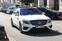 Poland (Piaseczno) - Mercedes-Benz S 63 AMG V222 (PrincepsLS) Tags: poland polish license plate warsaw spotting wpi piasezchno mercedesbenz s 63 amg v222
