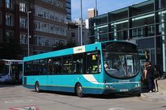 Arriva 2643 / CX07 CTE (TEN6083 (kieron mathews)) Tags: transport publictransport bus buses nebuses arriva arrivanorthwest manchester pulsar vdl wrightbus 2643 shudehillinterchange sb200 cx07cte