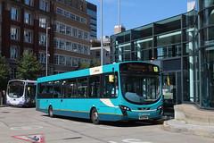 Arriva 3128 / MX12 KWA (TEN6083 (kieron mathews)) Tags: transport publictransport bus buses nebuses arriva arrivanorthwest manchester 3128 vdl wrightbus shudehillinterchange sb200 pulsar2 mx12kwa