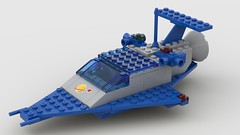 Inverted LL 918 (Constender) Tags: lego classic space ll918 ll 918 spaceship
