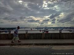 Untitled (iftekharwafid) Tags: karnafully river bridge chittagong bangladesh city citylife people clouds sky port chittagongport karnafullybridge water outside outdoor road day daylight wallpaper photography sunlight street