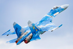Ukraine Air Force - Sukhoi Su-27 Flanker (FrogFootTV) Tags: aviationphotography aviation aircraft helicopter plane planes airplanes avgeek canon7d canon100400ii canon100400 canon 7d 7dmk1 canon7dmk1 gdyniaaerobaltic aerobaltic aerobaltic2019 gdyniakosakowoairport polska poland polish gdynia aviators aviationpic aircraftphoto aircraftphotography militaryaviation military ukraineairforce ukrainianairforce ilyushinil76 sukhoisu27flanker su27flanker ilyushin76 ukraf