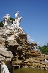Neptun Brunnen, Schloss Schönbrunn, Wien (AWe63) Tags: brunnen schloss schönbrunn chateau schlosspark park pentax pentaxk1mkii cawe63