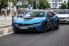 Poland (Otwock) - BMW i8 (PrincepsLS) Tags: poland polish license plate warsaw spotting wot otwock bmw i8