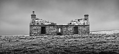Abandoned Croft (captures.in.time) Tags: scotland orkney visitorkney visitscotland scottsmagazine islands northern north kirkwall stromness orcadian landscape landscapephotography wonderlust lonelyplanet ngc ngm travel travelphotography lee exposure waves relax calm farm croft abandoned abandonment disused clearance yesnaby black blackandwhite bw bnw monochrome free escape wild farming hard life hardlife