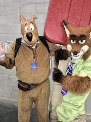 fullsizeoutput_37b8 (wileyk2011) Tags: fan expo boston 2019 comic cosplay convention con scoobydoo scooby doo costume mask zootopia nick wilde