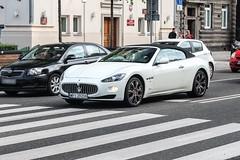 Poland (Piaseczno) - Maserati GranCabrio (PrincepsLS) Tags: poland polish license plate warsaw spotting wpi piaseczno maserati granturismo