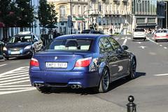 Poland (Piaseczno) - BMW M5 E60 (PrincepsLS) Tags: poland polish license plate warsaw spotting wpi piaseczno bmw m5 e60