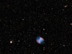 The Dumb-Bell Planetary Nebula M27 (Tim Aldworth) Tags: nebulae williamopticsgtf81 zwo ioptronieq45pro astrophotography m27 asi1600mc astrometrydotnet:id=nova3616337 astrometrydotnet:status=solved