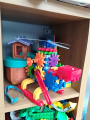Wonder if it'll fly (daveandlyn1) Tags: toys lovelycolours ark shelves playroom smartphone psdigitalcamera cameraphone pralx1 p8lite2017 huaweip8