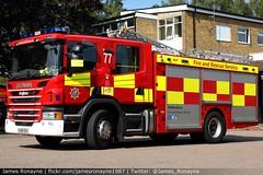 KX68 DSU | Scania P280 (Angloco) | Bedfordshire Fire & Rescue Service (james.ronayne) Tags: kx68 dsu scania p280 angoloco bedfordshire fire rescue service engine emergency luton community station open day