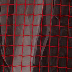 networking (zeh.hah.es.) Tags: zurich zürich hb zürichhb zürichhauptbahnhof zurichmainstation hauptbahnhof schweiz switzerland netz net rot red grau gray grey darkgray darkgrey dunkelgrau baustelle constructionsite construction kreis1 gitter grid