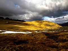 Moody Skies (me.darren) Tags: naturallandscape highland mountain nature grassland cloud fell sky mountainouslandforms hill wilderness light