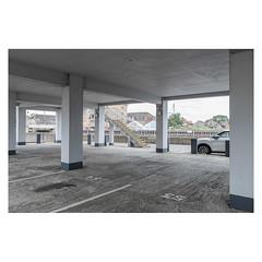 Spaces (John Pettigrew) Tags: lines tamron d750 nikon buildings empty mundane documentary urban steps banal topographics car ordinary deserted park desolate imanoot johnpettigrew angles