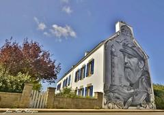 'Terre de Marins'  Plouhinec / Bretagne (jean-paul Falempin) Tags: streetart fresques artiste plouhinec finistère peinturemurale stphotographia glezduek