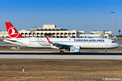 Turkish Airlines Airbus A321-271NX |  TC-LSC  |  LMML (Melvin Debono) Tags: turkish airlines airbus a321271nx | lmml tclsc 8617 a321neo neo melvin debono plane planes photography spotting spotters spotter canon eos 5d mark iv 100400mm airport airplane aircraft aviation malta mla