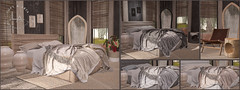 Loft & Aria Azibo Bedroom @ Uber (Colleen Desmoulins / Loft & Aria) Tags: uber second life mesh furniture bedroom casual scandinavian
