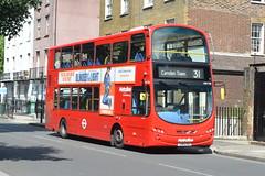 LK11 CYO (VW1196) Metroline London (hotspur_star) Tags: londontransport londonbuses londonbus londonbuses2019 wrightbus volvoeclipsegemini tfl transportforlondon busscene2019 doubledeck metrolinelondon lk11cyo 31 vw1196