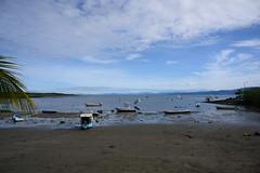 Beach Scene (RosePerry1107) Tags: osapeninsula costarica beach boat landscape waterscene lowtide puertojimenez nikonz6