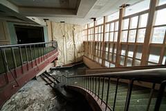 Main Staircase (michaelbrnd) Tags: abandoned ski resort urbex urban exploration