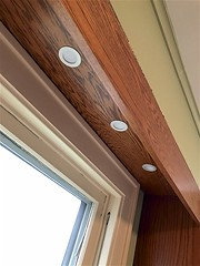 Day #4 Progress (oxfordblues84) Tags: kitchen kitchenrenovation renovation house home valance soffit soffitlighting lights downlight downlights ledlighting window kitchensaver