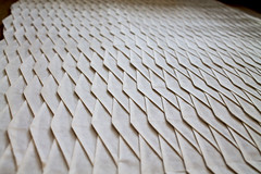 Scale (Andrey Ermakov) Tags: origami tessellation paper art paperart ermakovorigami corrugation paperfold papercraft ricepaper