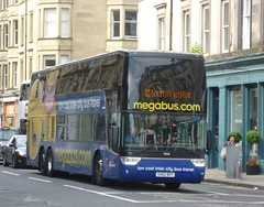 Stagecoach West Scotland 50250 on Haymarket Terrace, Edinburgh. (calderwoodroy) Tags: scotland coach edinburgh haymarket doubledecker haymarketterrace lowcostintercitybustravel stagecoach stagecoachwestscotland megabus citylink scottishcitylink service900 50250 sv62bff vanhool tdx27