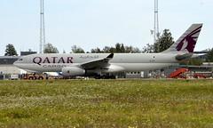 Qatar A7-AFH, OSL ENGM Gardermoen (Inger Bjørndal Foss) Tags: a7afh qatar airbus a330 cargo osl engm gardermoen