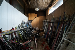 Skis (michaelbrnd) Tags: abandoned ski resort urbex urban exploration