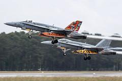 C.15-14 / Spanish Air Force / McDonnell Douglas EF-18A+ Hornet (Charles Cunliffe) Tags: canon7dmkii aviation montdemarsanairbase lfbm spanishairforce spaf ejércitodelaire mcdonnelldouglasfa18hornet mcdonnelldouglasef18ahornet c1514