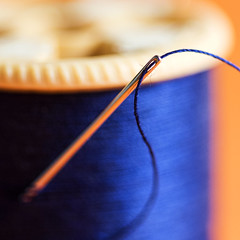 Needle and Thread (Joseph Pearson Images) Tags: macromondays goestogetherlike needle thread cotton square macro