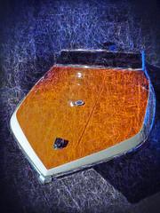 Whatever Floats Your Boat (Steve Taylor (Photography)) Tags: digitalart blue orange white water uk gb england greatbritain unitedkingdom london texture boat