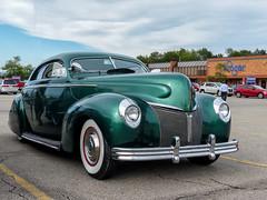 Chopped 1940 Mercury Coupe (J Wells S) Tags: chopped1940mercurycoupe customcar hotrod streetrod davepotts leadfootspeedshop milfordcruisein milford cincinnati ohio alltypesoftransport