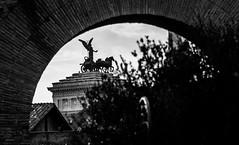 Quadriga della Libertà (yorgasor) Tags: italy quadriga chariot liberty monumentoavittorioemanueleii quadrigadellalibertà nikon 180mm ais sony a7r2 a7rii