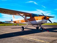 Cessna 152 PR-MNF (camargsen) Tags: avião aviação avgeek aviation aircraft airplane plane planespotting cessna 152 c152 aeronave aeroclubedenovohamburgo monomotor