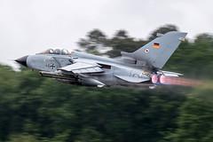 46-32 / German Air Force / Panavia Tornado ECR (Charles Cunliffe) Tags: canon7dmkii aviation montdemarsanairbase lfbm germanairforce gaf luftwaffe panaviatornado panaviatornadoecr 4632