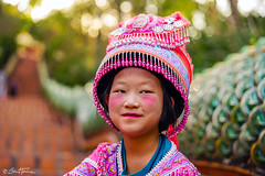 Traditional girl at Doi Suthep Temple, Thailand - Ben Heine Photography 2019 (Ben Heine) Tags: hug hmong asia cute dress fashion young thai background play ceremony female girl child tribal sisters year karen ethnic temple white kayan asian face hill smile art laugh little people person monument vintage petite costume children new culture girls minority colorful pai beautiful travel nymphet friends portrait outdoor stairs thailand traditional happy doisuthep