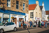 Anstruther chip shop, seafront, Fife, Scotland