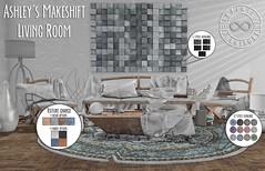 Infinite - Ashley's Makeshift Living Room @ N21 (Divine Falodir (Infinite)) Tags: diy second life furniture modern contemporary sassy fabulous art deco neutral color