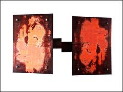 0030057 (onesecbeforethedub) Tags: vilem flusser technical images onesecbeforetheend onesecbeforethedub onesecaftertheend photoshop multiple exposure collage malta edinburgh contemporaryart streamofconsciousness details diptych rust decay industrial anthropomorphism anthropocene