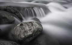 Arachthos river (George Megas) Tags: arachthos river tzoumerka epirus ioannina greece blackandwhite bw flow water nature longexposure wideangle canon eos